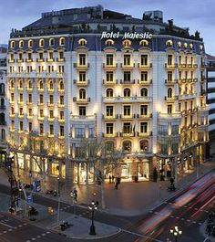 Majestic Hotel Barcelona, Spain