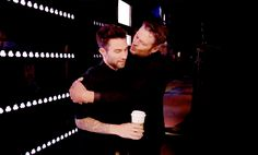 …but we knew they'd make up. | 20 Of Adam Levine And Blake Shelton's Most Bromantic Moments