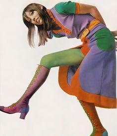 Bert Stern, Shelley Duvall, Vogue, 1971