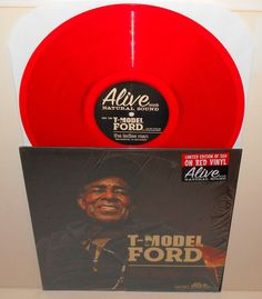 T-MODEL FORD the ladies man Lp Record RED Vinyl - limited edition of 500 , blues #BluesRock