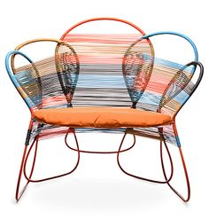 TRAME EASY ARMCHAIR Designed By Federica Capitani