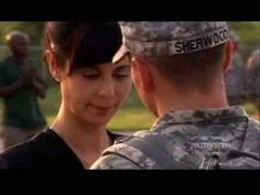 Army Wives - Denise Sends Jeremy Off Army Wives, Band Of Brothers, It Cast, Military, Leaves, Songs, American, Heart, Movies