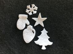 Felt Christmas Shapes for Wax Dipping-Holiday Pack-DIY Kits for Independent Consultants-Parties-Decorations-Embellishments-Bible Journaling by PearCreekCottage on Etsy