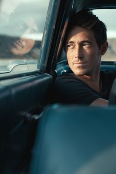 Works - Cameron Rad | Photography, man, car, sunlight