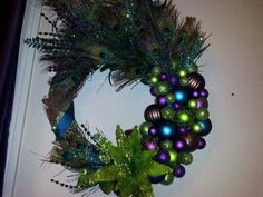 Peacock wreath :-)