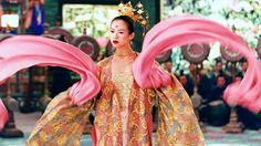 Zhang Ziyi in Chinese movie Flying Daggers'.