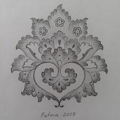 Indian Embroidery Designs, Bead Embroidery Patterns, Beautiful Rangoli Designs, Kolam Designs, Islamic Pattern, Arabesque, Sweet Drawings, Fabric Paint Designs, Pencil Design