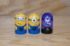 Minion Peg Dolls