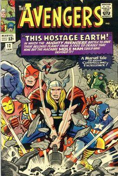 COMIC avengers 12 #comic #cover #art