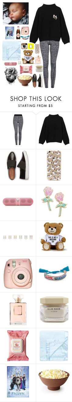 """""""E-lazy day in the hotel in Portugal with Freddie and ur bf Louis"""" by onedirectionnhllz ❤ liked on Polyvore featuring Topshop, Monki, Forever 21, Beats by Dr. Dre, Big Bud Press, Moschino, Fujifilm, Shourouk, Chanel and Elie Saab"""