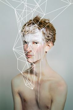 Geometric Maps by May Xiong, via Behance
