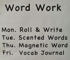 Hi Friends!  Today I'd like to share some newactivities for the Daily Five  Work on Writing & Word Work. I taught first grade last year an...