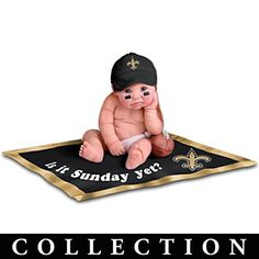NFL Licensed New Orleans Saints Baby Doll Collection There are 3 in the collection. $39.98 each