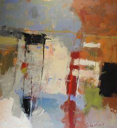 Tony Saladino - Sinfonia / acrylic / 52 x 48 in. / $5,500
