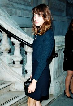 "Alexa Chung at the ""London Collection: Men - Esquire, Mr Porter & Jimmy Choo"" event on June 15th, 2012 (x)"