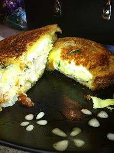 Spinach Artichoke Grilled Cheese, best grilled cheese ever!!!!