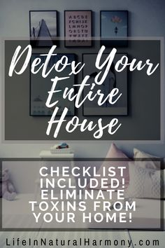Detox Your Home with this checklist! Detox your environment for a healthier, non-toxic living. Natural Cleaning Solutions, Natural Cleaning Products, Castile Soap Uses, Natural Living, Organic Living, Simple Living, Detox Your Home, Household Cleaning Tips, Cleaning Supplies