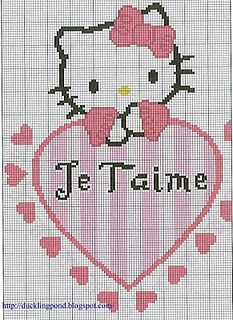 Hello Kitty...i'd love to make this for rebekah