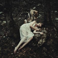 Interview: Alessio Albi's Evocative Portraits Blend the Natural Beauty of Women with Nature - My Modern Met
