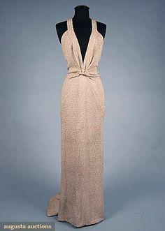 ~LUCIEN LELONG EVENING GOWN, 1937~