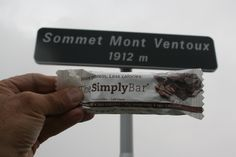 Cocoa Coffee bar at the Summit of Mt. Ventoux – 21km uphill cycle, famous part of a route used annually in the Tour de France