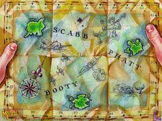 Capitan Dread's Map | #monkeyisland 2 Le Chuck Revenge