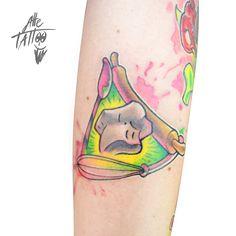 #alletattoo #tattoo #tatuaggio #newschool #cook #cucina #tattoobydani #viaspettiamoalnuovoguinnessdiottobre91011