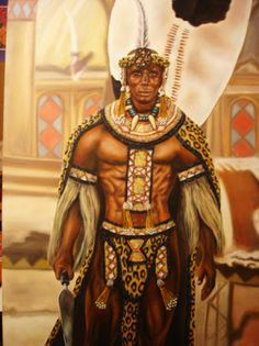 King Shaka! This was the big boss back in the day!