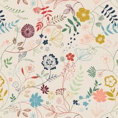 wildflower fabric