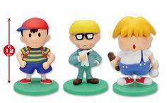 Earthbound (Mother 2) figures by Banpresto