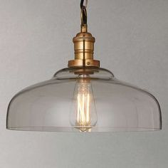 BuyJohn Lewis Croft Collection Clyde Glass Pendant Ceiling Light Online at johnlewis.com
