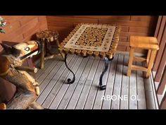 Şeffaf Epoksi Scalica Boya Konsept Masa Uygulaması - YouTube