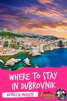 Our top picks for where to stay in Dubrovnik in A comprehensive guide to the best hotels, hostels & private accommodation in Dubrovnik. Croatia Travel Guide, Europe Travel Guide, Italy Travel, Budget Travel, Travel Guides, Dubrovnik Accommodation, Visit Croatia, Vacation Destinations, Holiday Destinations