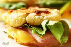 Sanduíche de pão de queijo - Gulab