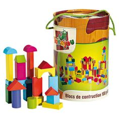 blocs construction en bois
