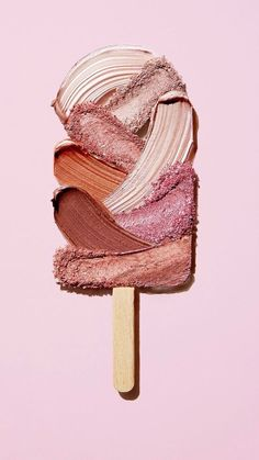 iPhone and Android Wallpapers: Ice Cream Art Wallpaper for iPhone and Android wallpaper Ice Cream Art, Makeup Wallpapers, Iphone Wallpapers, Makeup Backgrounds, Photoshop, Photocollage, Pink Aesthetic, Aesthetic Makeup, Make Up