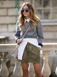 Fresh ideas for ways to wear a white button-down