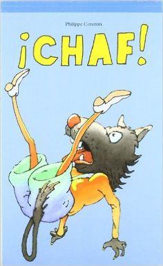 CHAF La historia de un lobo que se cae al pozo.