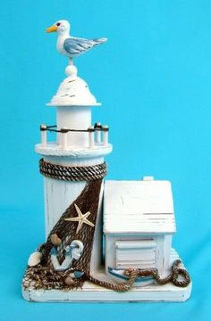 Puzzled Country Lighthouse Decor - List price: $33.45 Price: $11.99