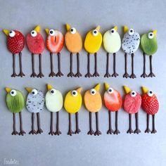 Strawberry Mouse, Kreative Snacks, Deco Fruit, Fruit Fruit, Fruit Cakes, Food Art For Kids, Food Sculpture, Food Artists, Food Humor