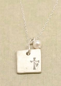 sterling faith hope love necklace | Lisa Leonard Designs
