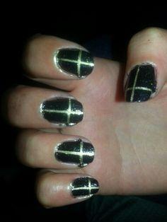 Barry M Cross Nail Art!