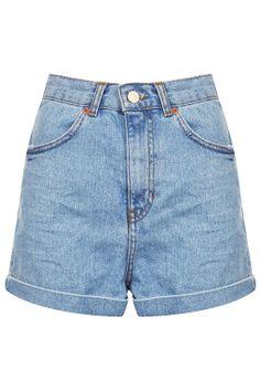 MOTO Bleach Shorts on Wanelo