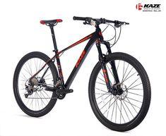 "KAZE TEAM ZERO SL2 พร้อมประจำการแล้วนะคะ  จักรยานเสือภูเขาแบบ Entry Level ล้อ 27.5""   มี 2 สี คือ สีดำ และ สีเงิน มีไซร์ 14 15.5 และ 17.5""  ราคา 19,100 บาท ----------------- รายละเอียดรุ่น เฟรม : X6 SLA โช๊คหน้า : KAZE- AIR SUSPENSION ล้อ : KAZE Alloy with full bearing hub  ยางนอก : WTB 27.5x2.00"" มือเกียร์ : SHIMANO รุ่น SLX แบบ 2x11 (22 สปีด)  สับจาน : SHIMANO รุ่น SLX แบบ 2x11 (22 สปีด)  ตีนผี : SHIMANO รุ่น SLX แบบ 2x11 (22 สปีด)  ขาจาน : PROWHEEL 38-28T เฟืองหลัง : SHIMANO 11-42T โซ่…"