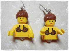E Lego Star Wars Princess Leia Earrings by EVILandENCHANTED, $30.00 Star Wars Princess Leia, Lego Star Wars, Geek Stuff, Christmas Ornaments, Stars, Holiday Decor, Earrings, Geek Things, Xmas Ornaments