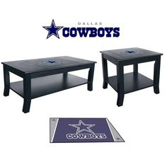 [[start Tab]] Description Show Your Cowboys Spirit And Pride By Having Your  Teamu0027s Logo Displayed On The Dallas Cowboys Table Set.