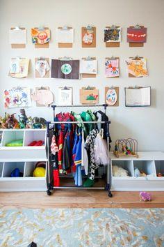 Hochwertig Klemmbrett Benutzen Für Ihre Kreative Wanddeko Ideen. Klemmbrett Kinderzimmer  Dekorieren Farbige Wanddeko