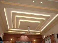 All Time Best Ideas: False Ceiling Design For Salon false ceiling details spaces.False Ceiling Design With Chandelier false ceiling rustic interior design. Gypsum Ceiling Design, House Ceiling Design, Ceiling Design Living Room, False Ceiling Living Room, Bedroom False Ceiling Design, Living Room Designs, Living Rooms, False Ceiling Ideas, Modern Ceiling Design