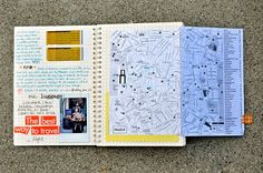 Another Amy Tangerine journal. She's my travel journal inspiration!!