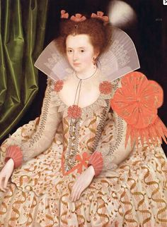 1612 Princess Elizabeth, daughter of James I, by Marcus Gheeraerts the Younger (private collection)